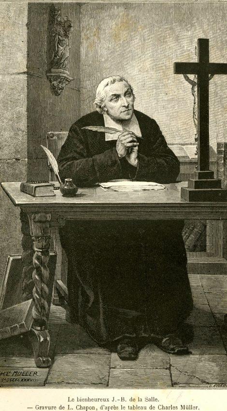Représentation de Saint Jean-Baptiste de la Salle